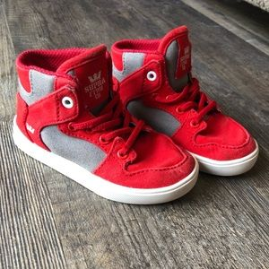 Toddler Supra high tops